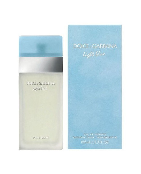 DOLCE&GABBANA LIGHT BLUE MUJER EDT 100ML VAPORIZADOR