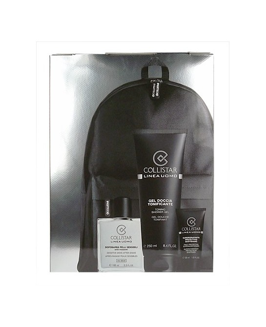 COLLISTAR UOMO SENSITIVE SKIN LOTE 3 PZ