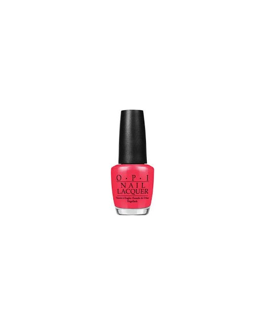 OPI NAIL LACQUER  NLH42-RED MY FORTUNE COOKIE 15 ML