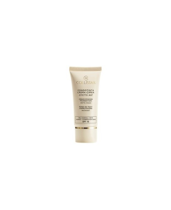 COLLISTAR CREAM POWDER MATTE FINISH SPF10  04 30ML