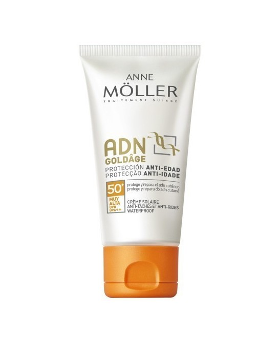ANNE MOLLER ADN GOLDAGE CREME SOLAIRE SPF50+ 50ML