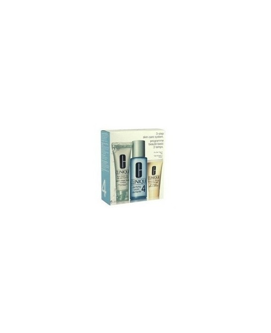CLINIQUE 3 STEPS INTRO KIT TIPO IV 3 PZ