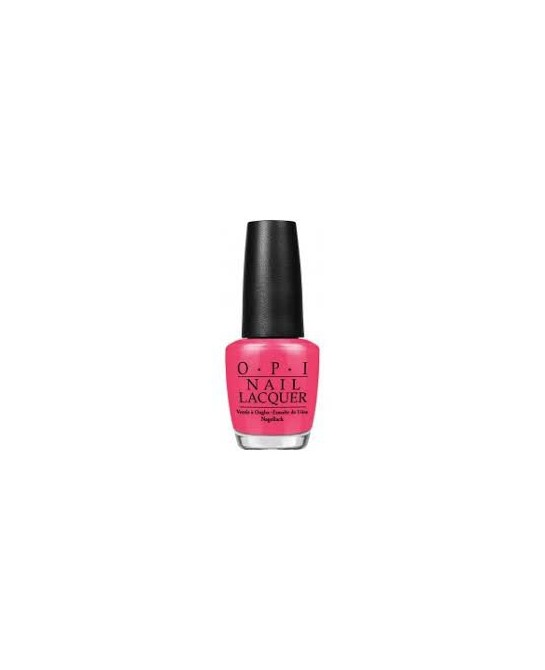 OPI NAIL LACQUER  NLB35-CHARGED UP CHERRY 15 ML