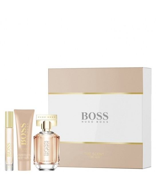 HUGO BOSS THE SCENT MUJER LT 3PZ