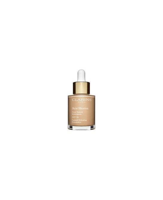 CLARINS BASE MAQUILLAJE SKIN ILLUSION SPF15 108,3 30ML (NEW)