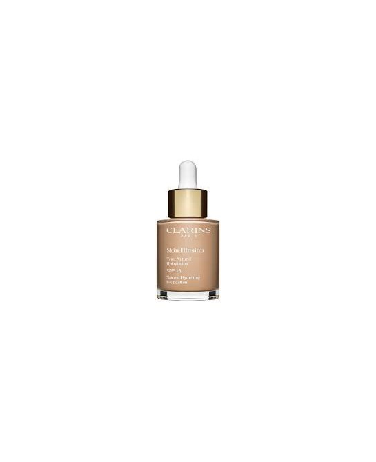 CLARINS BASE MAQUILLAJE SKIN ILLUSION SPF15 109 30ML (NEW)