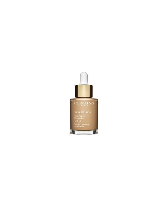 CLARINS BASE MAQUILLAJE SKIN ILLUSION SPF15 110 30ML (NEW)