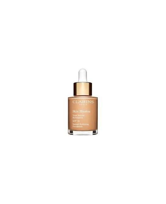 CLARINS BASE MAQUILLAJE SKIN ILLUSION SPF15 111 30ML (NEW)