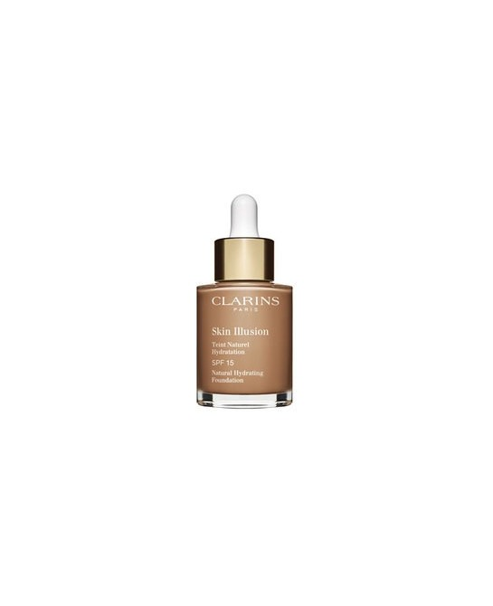 CLARINS BASE MAQUILLAJE SKIN ILLUSION SPF15 112,3 30ML (NEW)