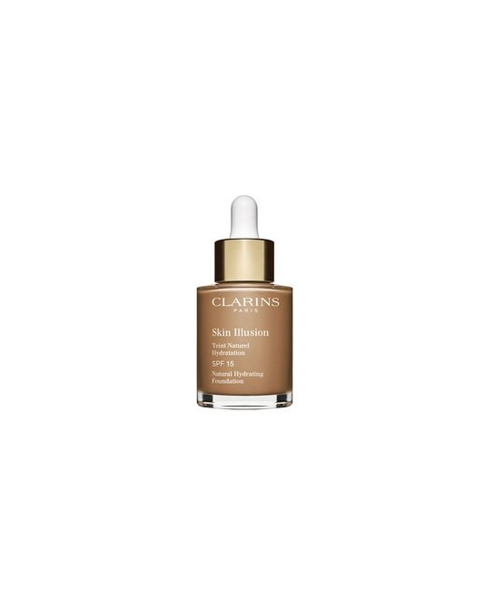 CLARINS BASE MAQUILLAJE SKIN ILLUSION SPF15 113 30ML (NEW)
