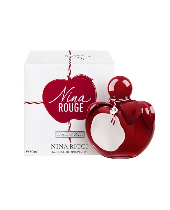 NINA RICCI ROUGE EDT 80ML VAPORIZADOR