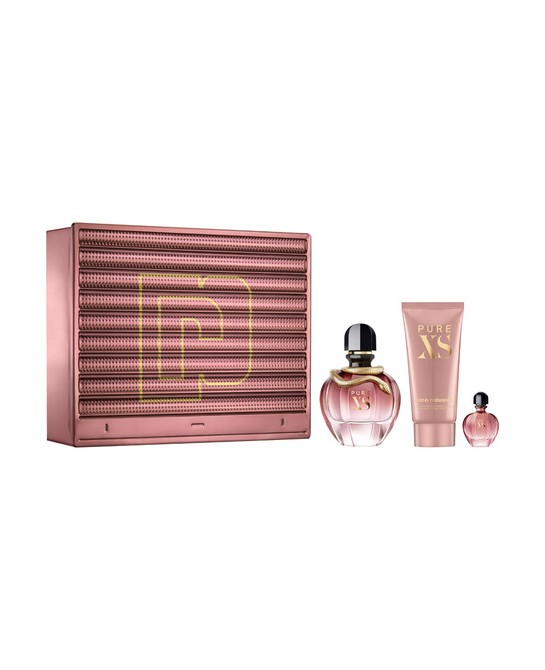 PACO RABANNE PURE XS MUJER  LOTE 3PZ