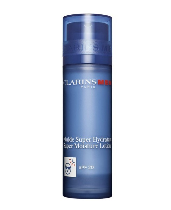 CLARINS MEN FLUIDO SUPER HIDRATANTE SPF20 ROSTRO 50ML (NEW)