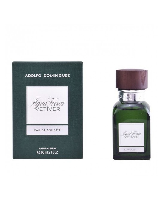 ADOLFO DOMINGUEZ AGUA FRESCA VETIVER EDT 60 ML VAPO