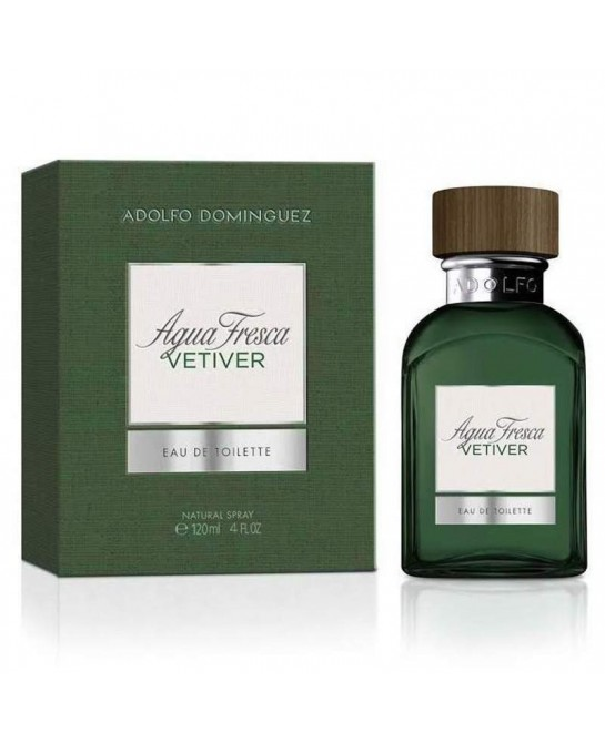 ADOLFO DOMINGUEZ AGUA FRESCA VETIVER EDT 120 ML VAPO