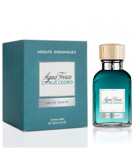 ADOLFO DOMINGUEZ AGUA FRESCA CITRUS CEDRO EDT 120 ML...