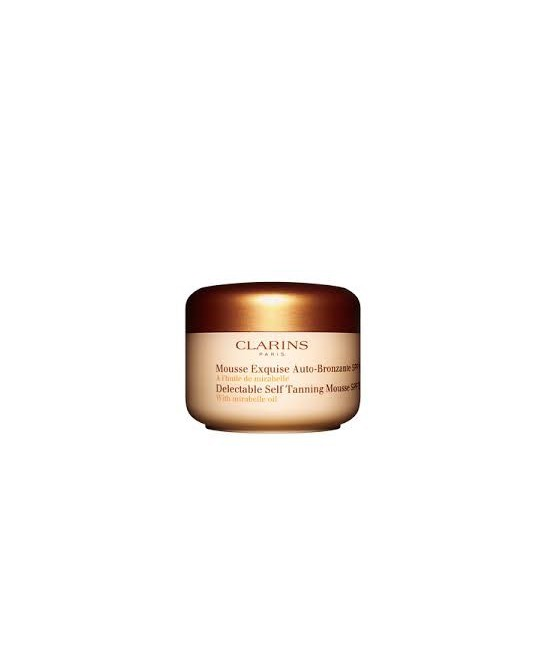 CLARINS MOUSSE EXQUISE AUTOBRONCEADORA SPF 15 125 ML.