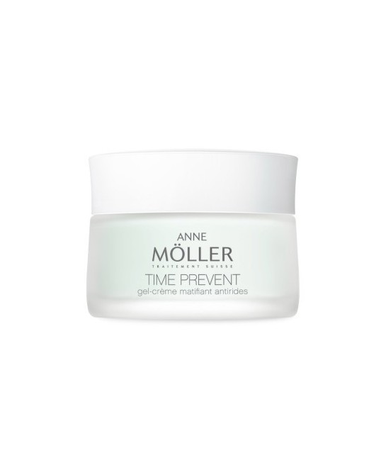 ANNE MOLLER TIME PREVENT GEL-CREME MATIFICANT ANTIRIDES...