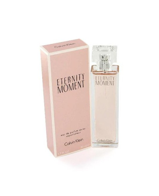 CALVIN KLEIN ETERNITY MOMENT MUJER EDP 50ML VAPORIZADOR