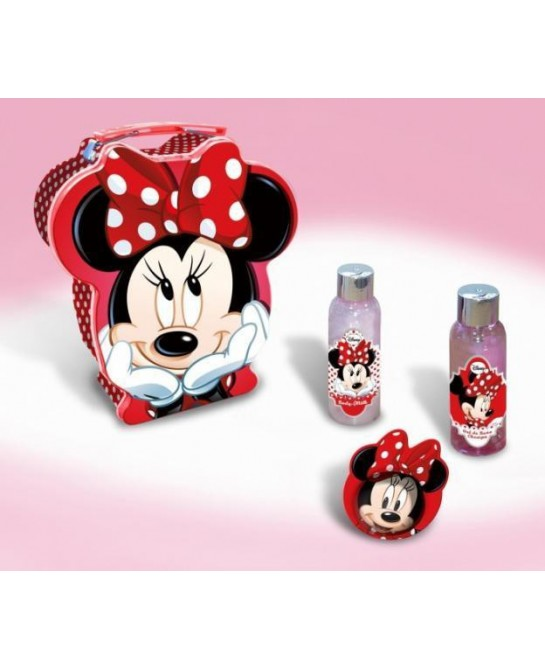 MINNIE MOUSSE LOTE HUCHA METAL 4PZ