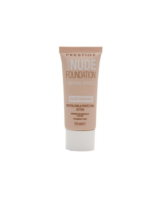 PRESTIGE SKIN NUDE FOUNDATION NUDE NATURAL (D)