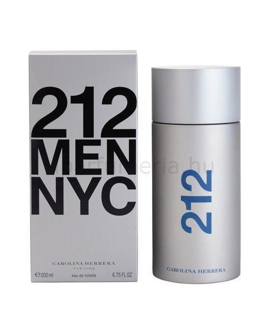 CAROLINA HERRERA 212 MEN EDT 200ML VAPORIZADOR