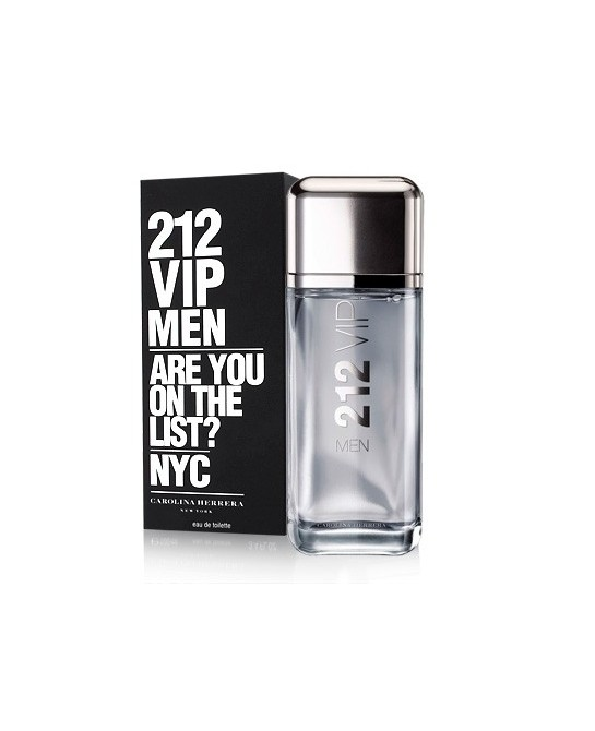 CAROLINA HERRERA 212 VIP MEN EDT 200ML VAPORIZADOR